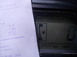 12,87 liter... Rp 57.915...