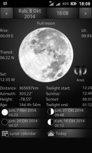 Gerhana Bulan Total (1)