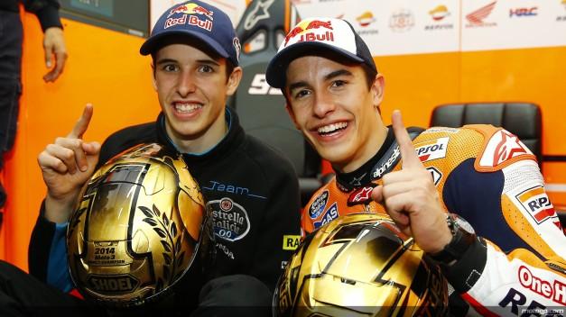 Alex Marquez and Marc Marquez (1)