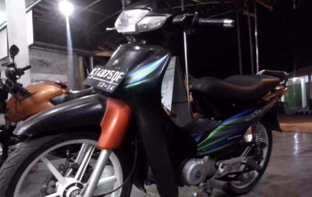 Modifikasi speedo Supra X (1)