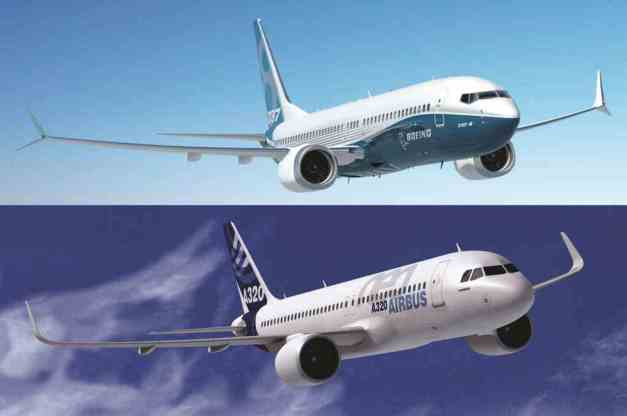 Boeing 737 Max VS Airbus A320Neo