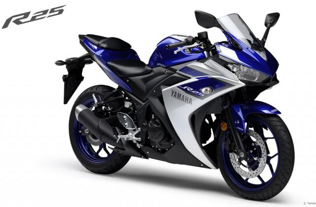 Yamaha YZF R25 ABS Dengan Warna Yang Lebih Cakep