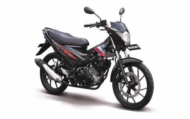 Suzuki Satria F150 versi murah (1)