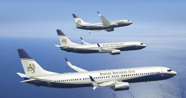 Boeing Business Jet Max series...