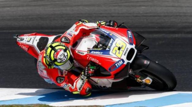 Iannone in Phillip island