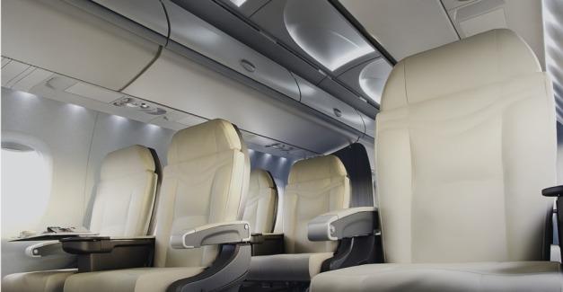 MRJ cabin