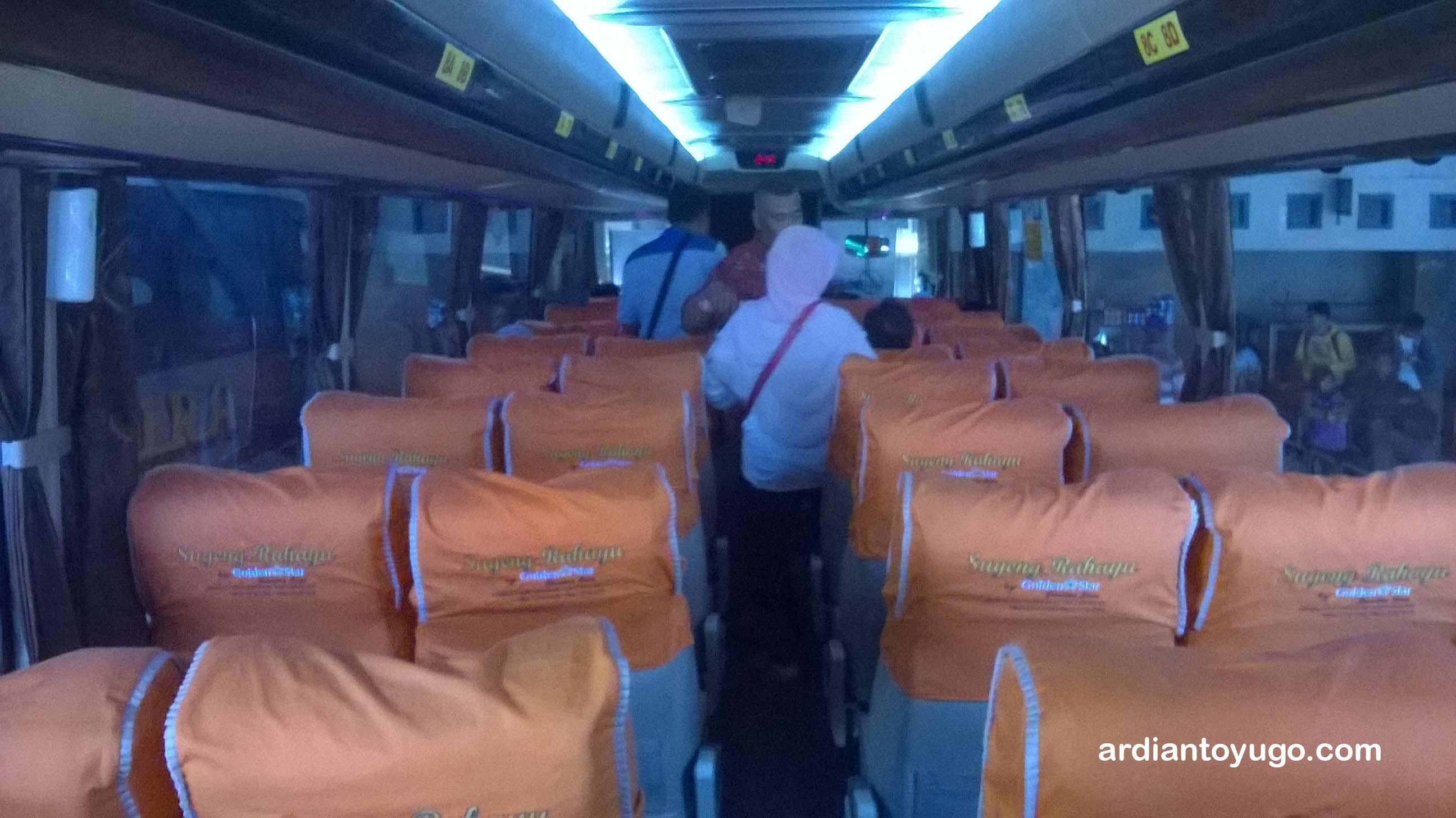 Sugeng Rahayu Golden Star Jet Darat Baru Jogja Surabaya