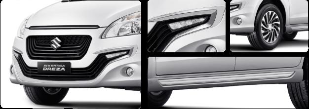 New Suzuki Ertiga Dreza ekterior
