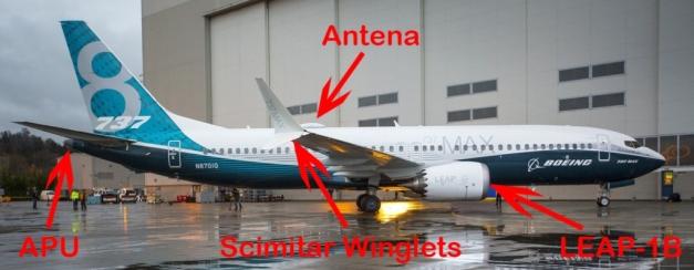 Boeing 737 Max Part