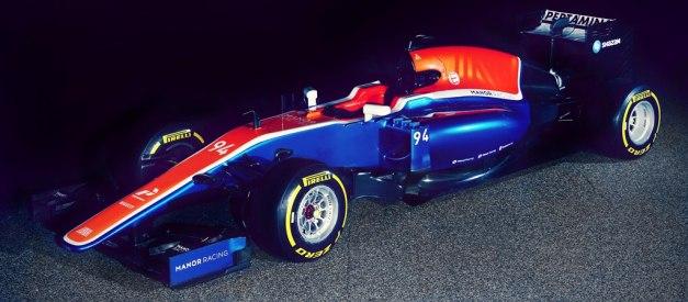 Mobil F1 Rio Haryanto