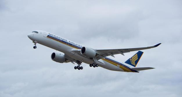 Airbus A350-941 XWB Singapore Airlines...