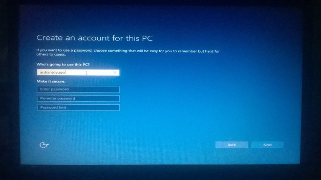 Instal windows 10