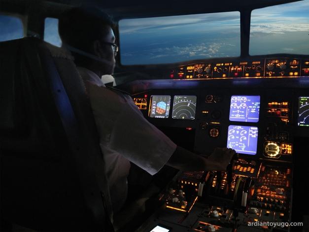 Airbus A230 cockpit