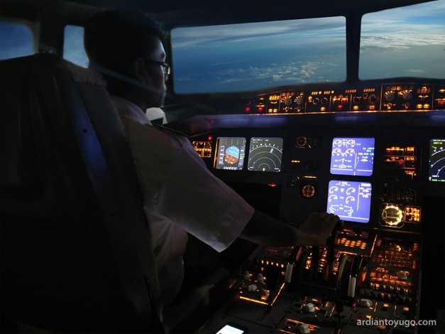 Airbus A230 cockpit