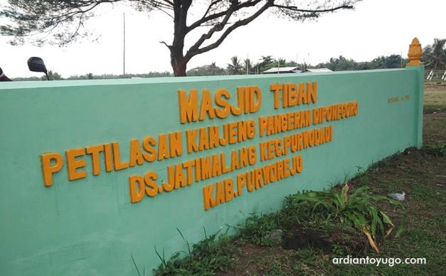 Masjid Tiban Diponegoro