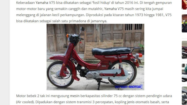 Ciee ciee sepeda-motor.info kamu ketauan...