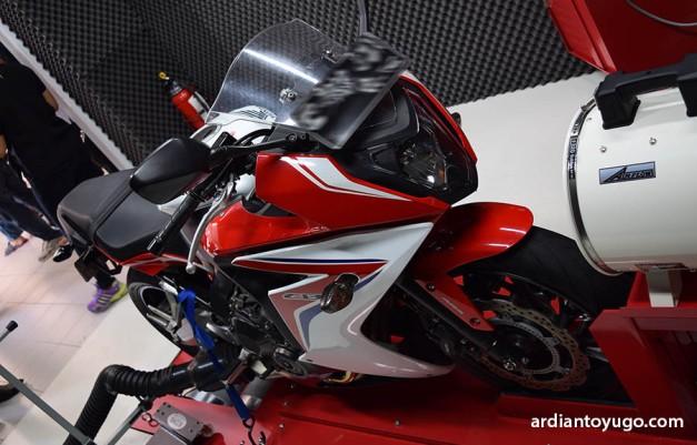 Dyno Test Honda CBR 650F