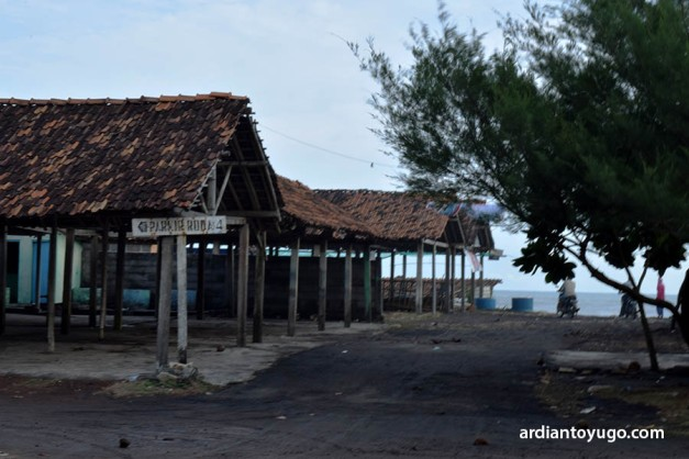 Gelombang Pasang di Pantai Glagah (1)